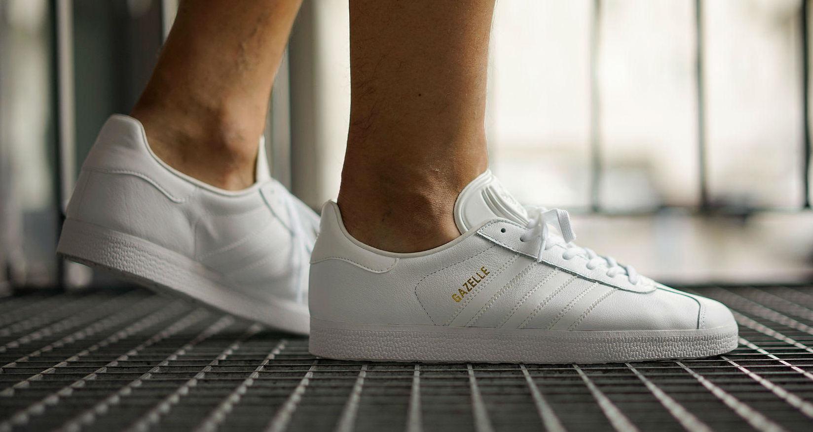 Adidas Gazelle Triple White | Sole Collector