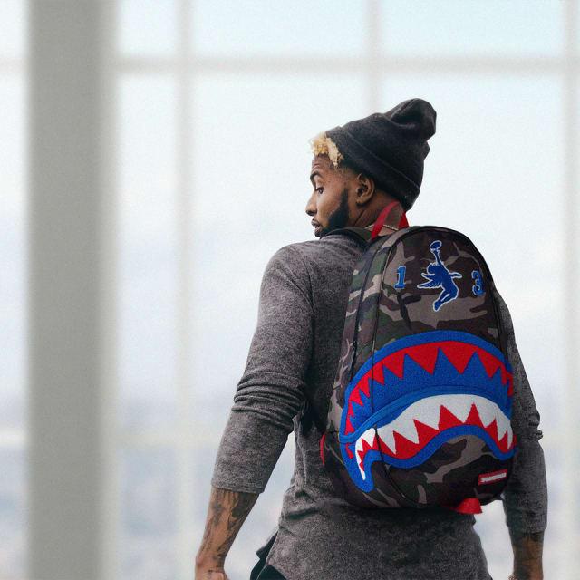 Odell Beckham Jr Collaborates With Sprayground To Bring