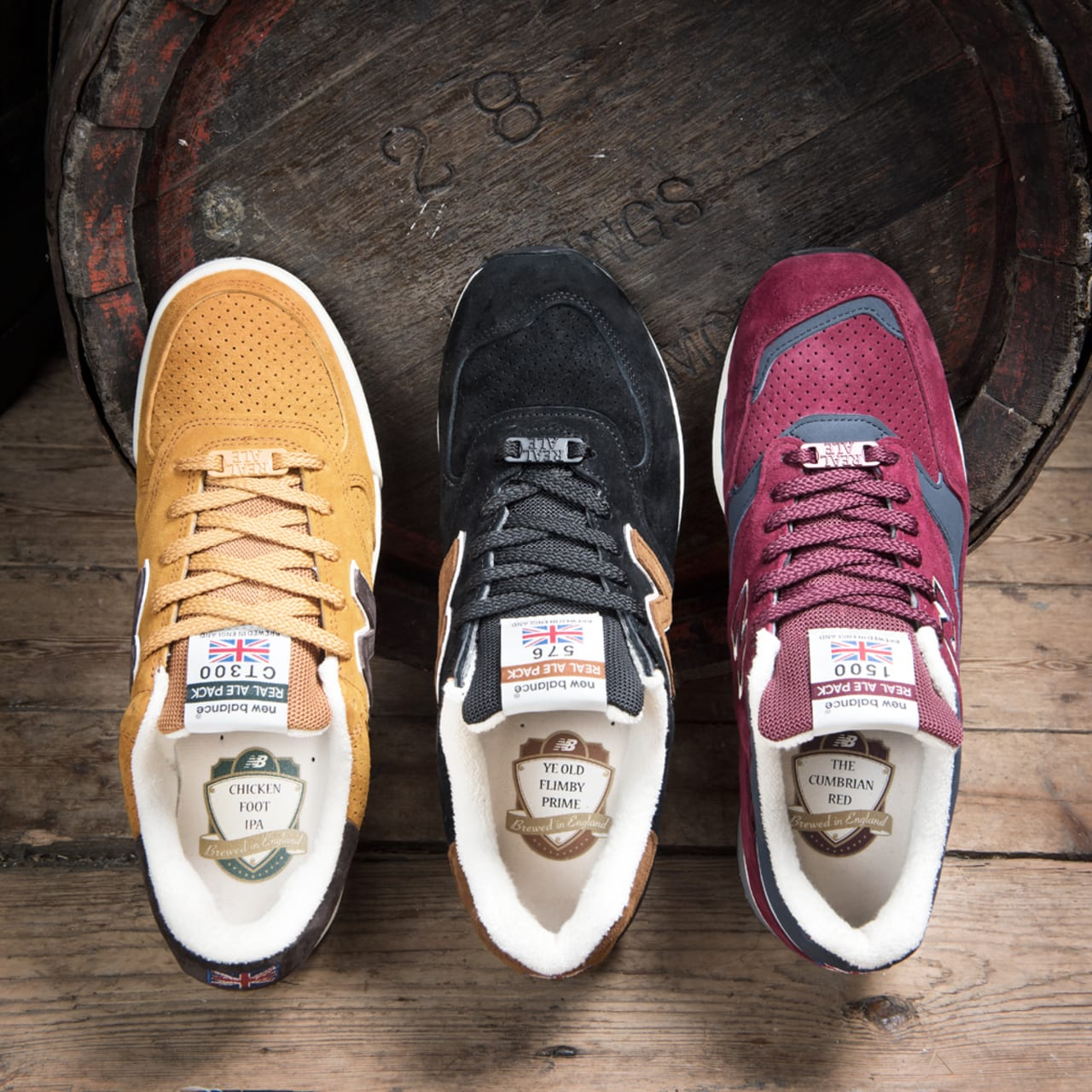 """New Balance """"Real Ale"""" Pack Turns Craft"""