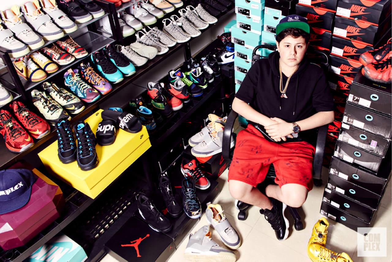2b60b57e935f Meet the Plug: Benjamin Kickz, The Teenage Sneaker Mogul   Complex