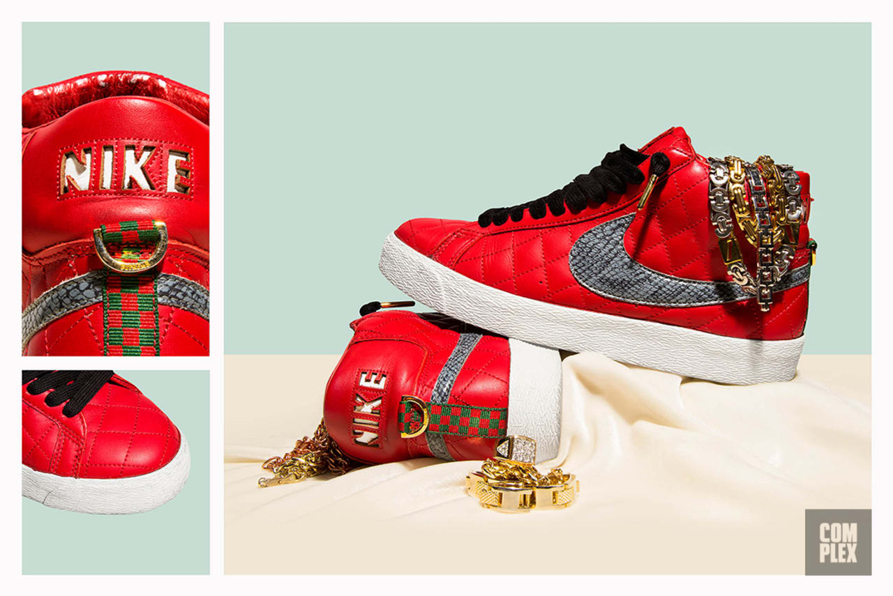 The Supreme x Nike Blazer SB 10th