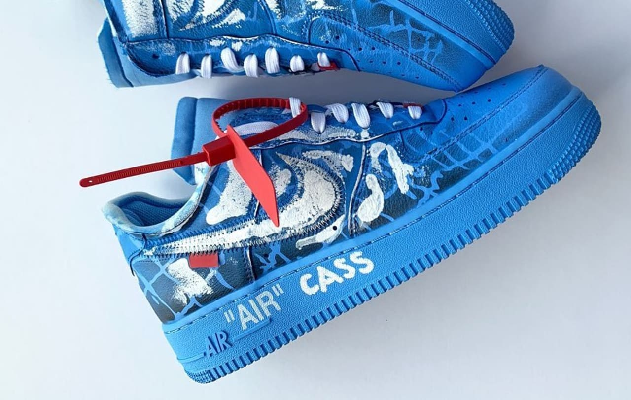 Damien Hirst's Son, Cassius Hirst, Paints Air Force 1's for