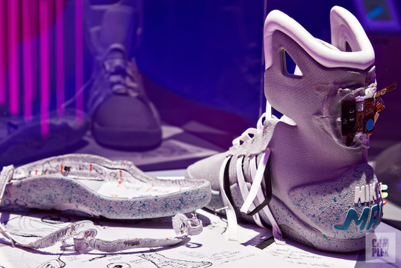 How the Auto-Lacing Nike Mag Became a