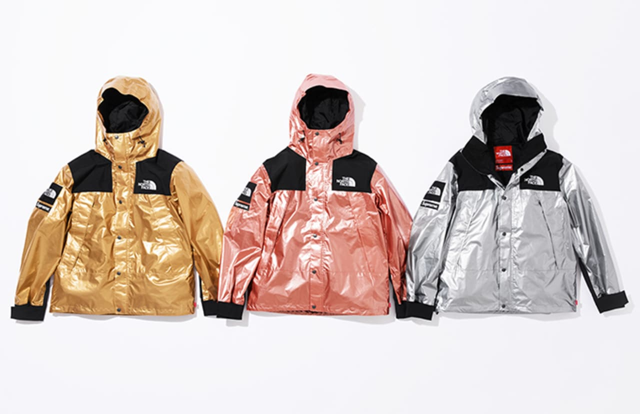 a7fd6738e Supreme Unveils Its Latest Metallic Collection With the North Face ...