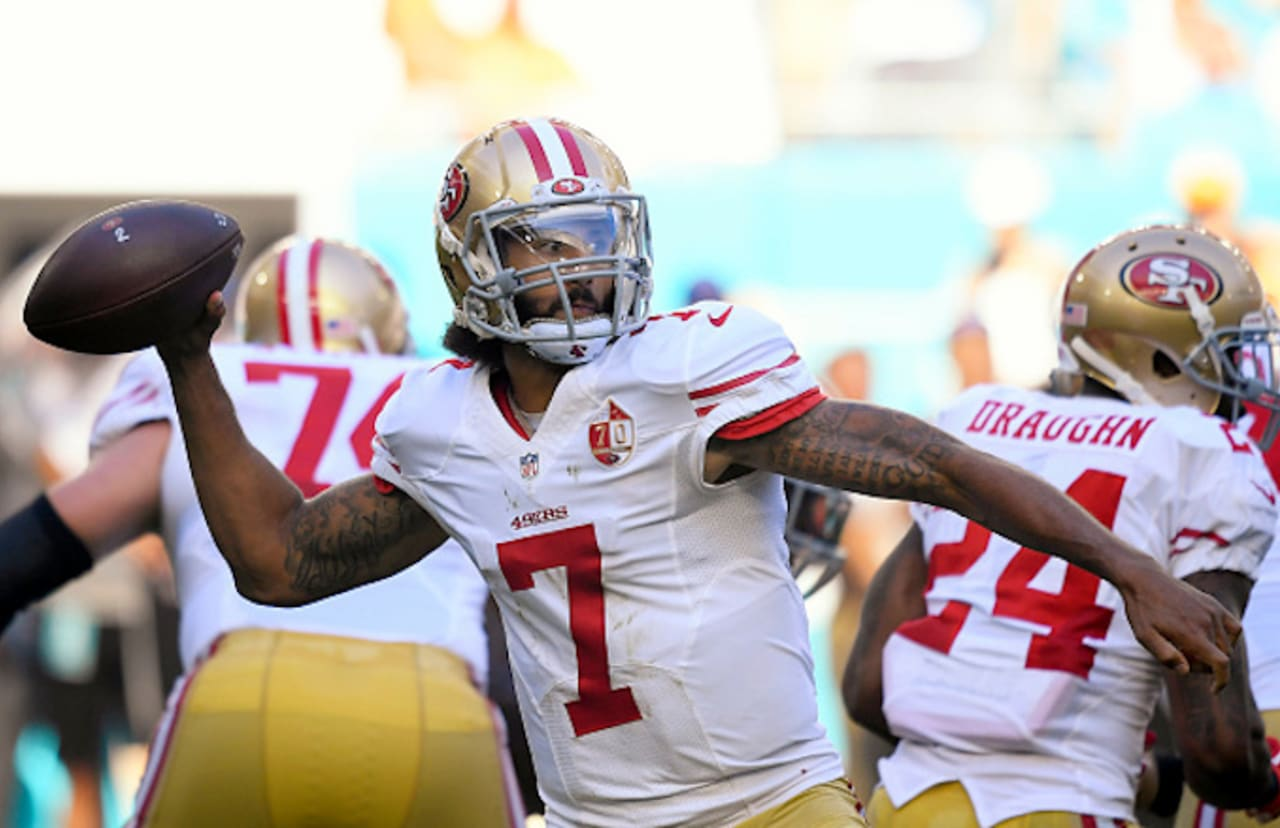 Broncos' Brandon Marshall Says Colin Kaepernick Is Still Looking to Play