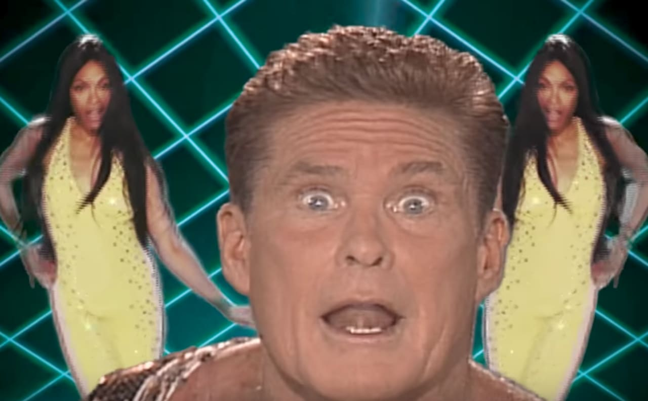 'Guardians of the Galaxy' Music Video Features David Hasselhoff and It Is Absolutely Ridiculous