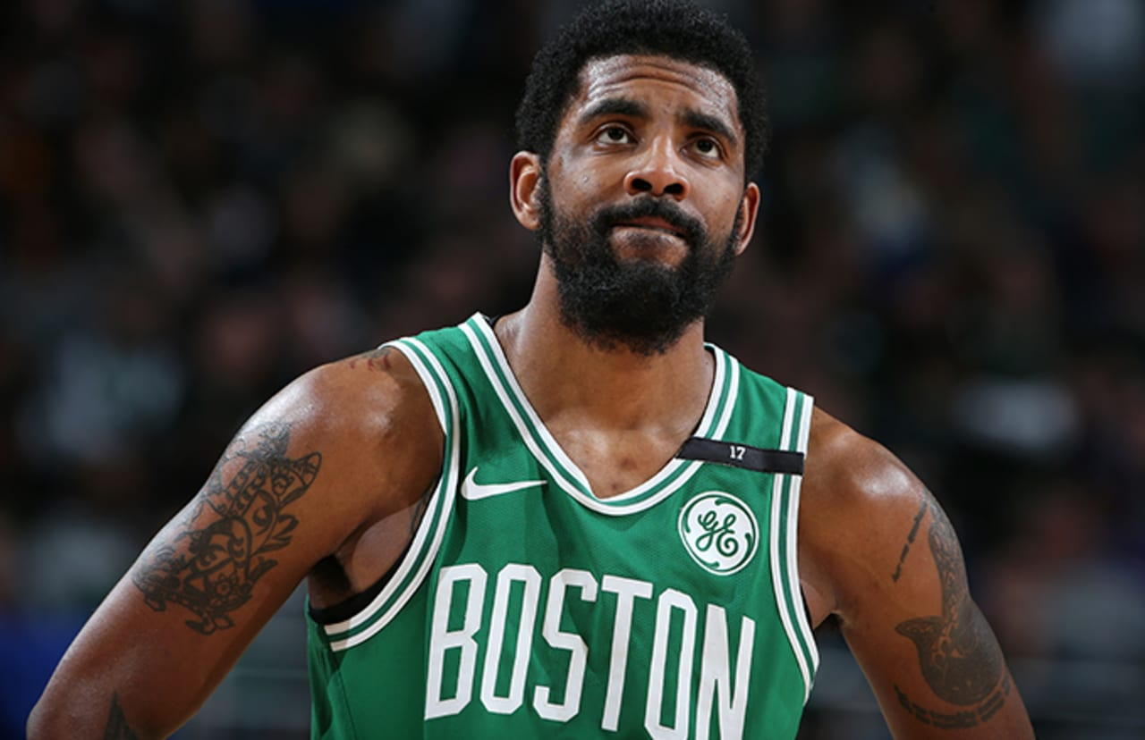 Image result for celtics kyrie irving upset