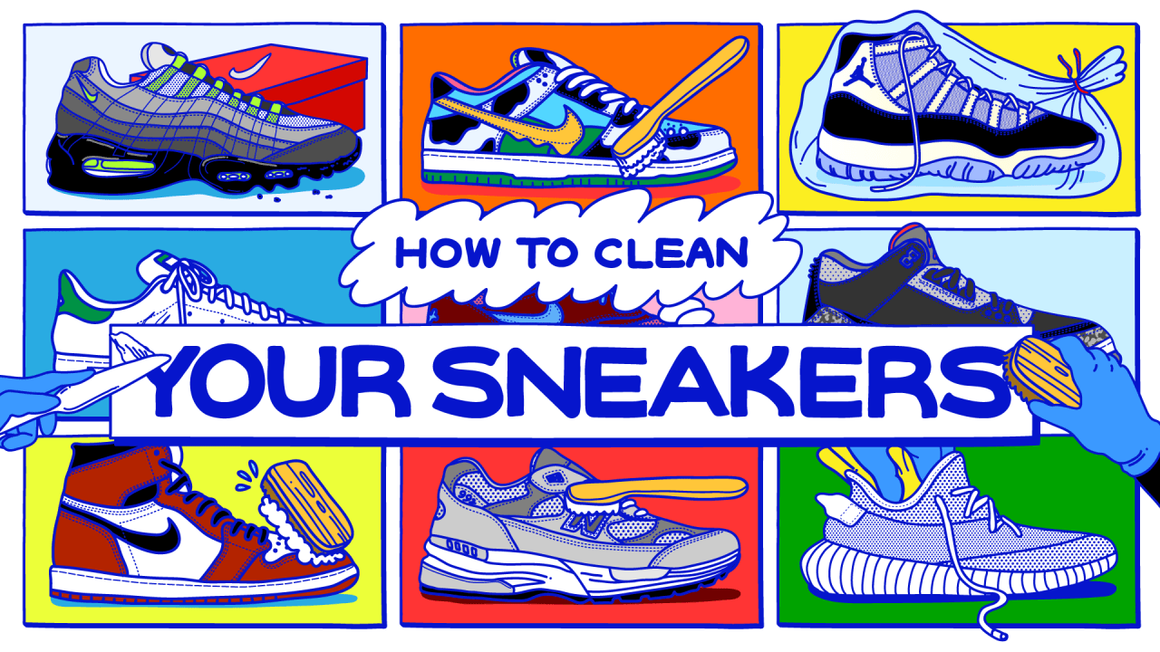 How To Clean Sneakers: Guide on Washing