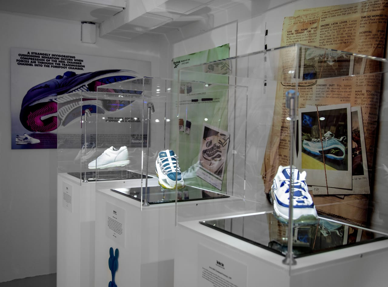 Reebok and The Garbstore Open 'The Next Step' Exhibition in London