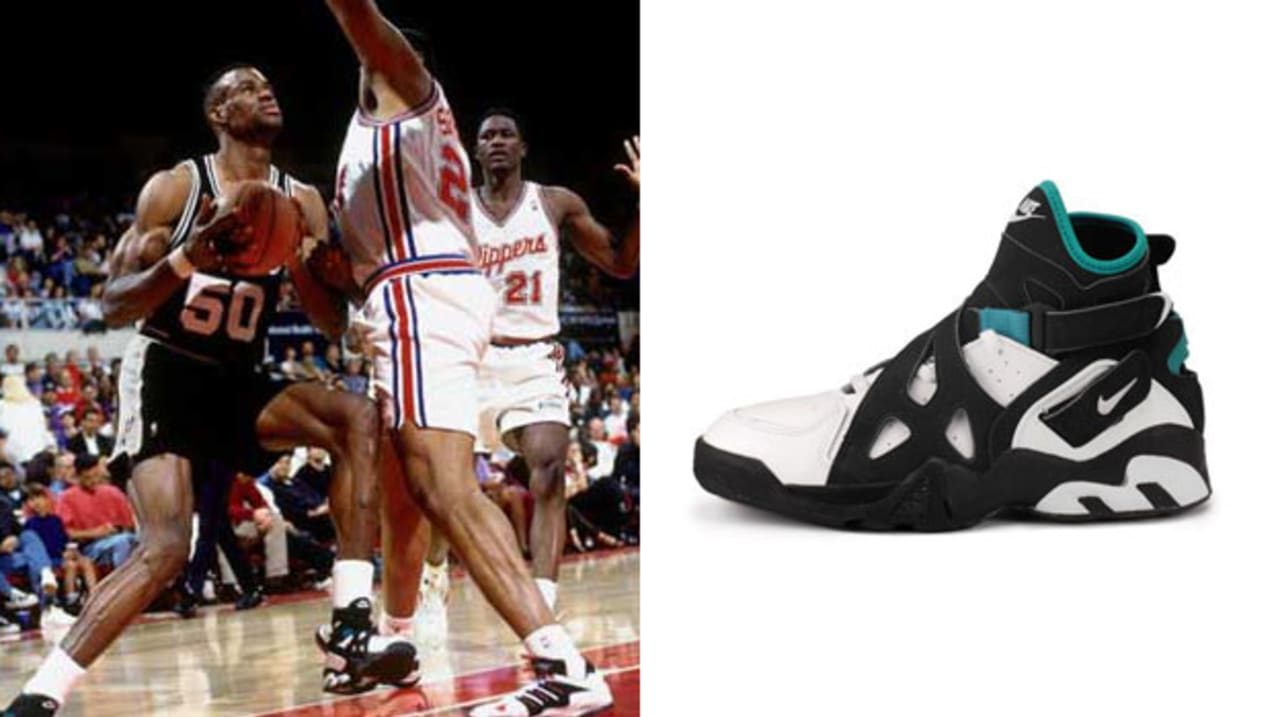 Today in Performance Sneaker History: David Robinson Scores