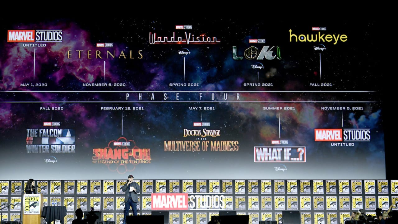 Disney Reveals Updated Release Schedule For Mcu Films Complex