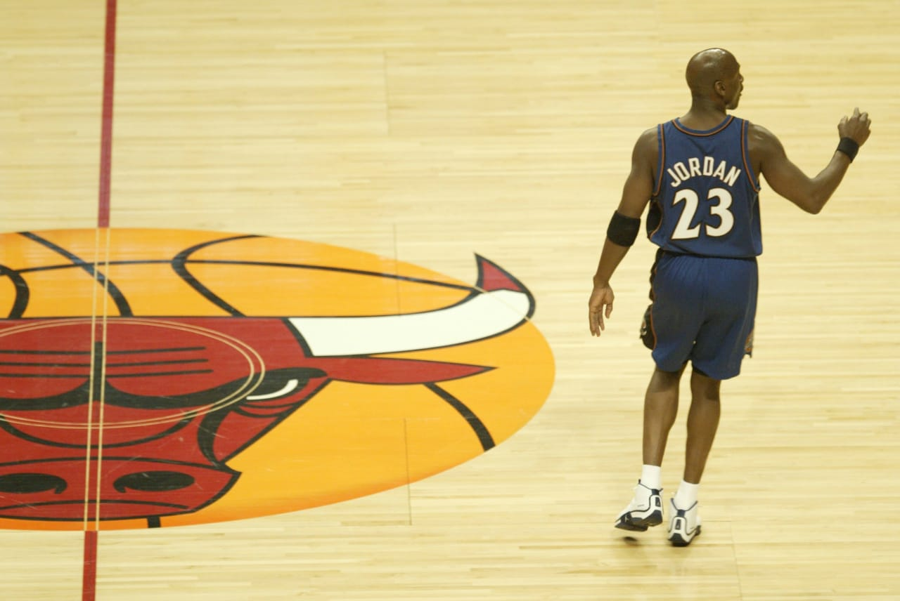 Yes, Michael Jordan Wore Team Jordans