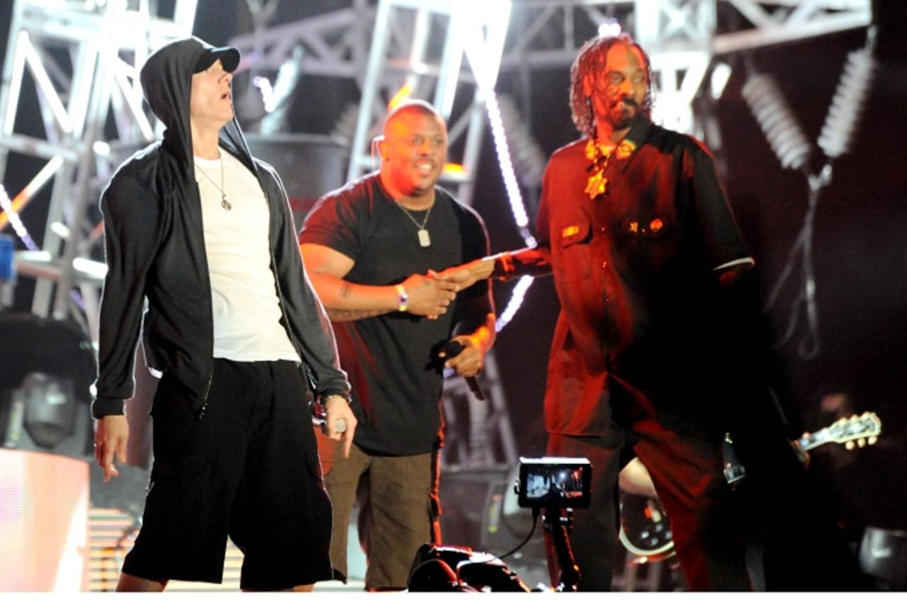 Eminem and Snoop Dog Reunite in the Studio for Possible