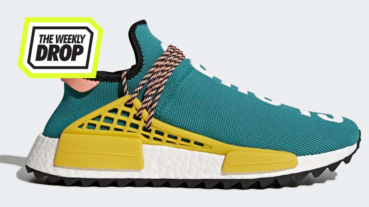 adidas Pharrell Williams HU NMD Trail Australian Sneaker Release Info: The Weekly Drop