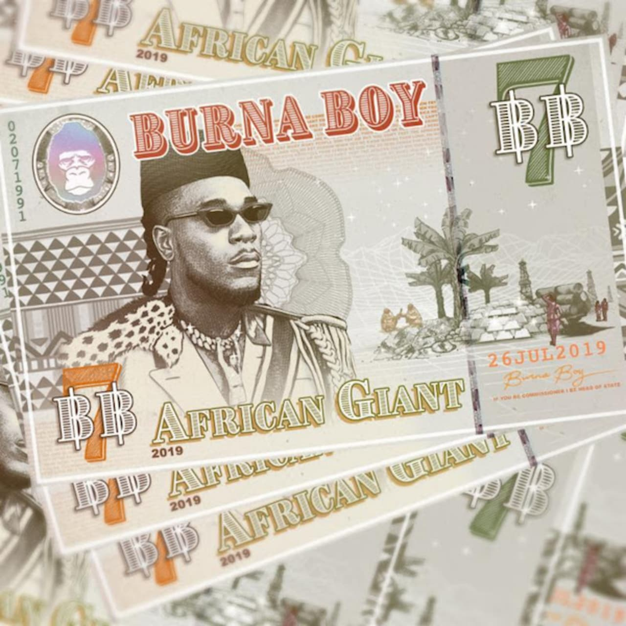 Image result for african giant burna boy album cover
