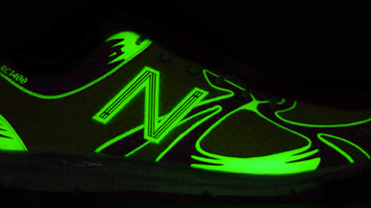new balance glow in the dark
