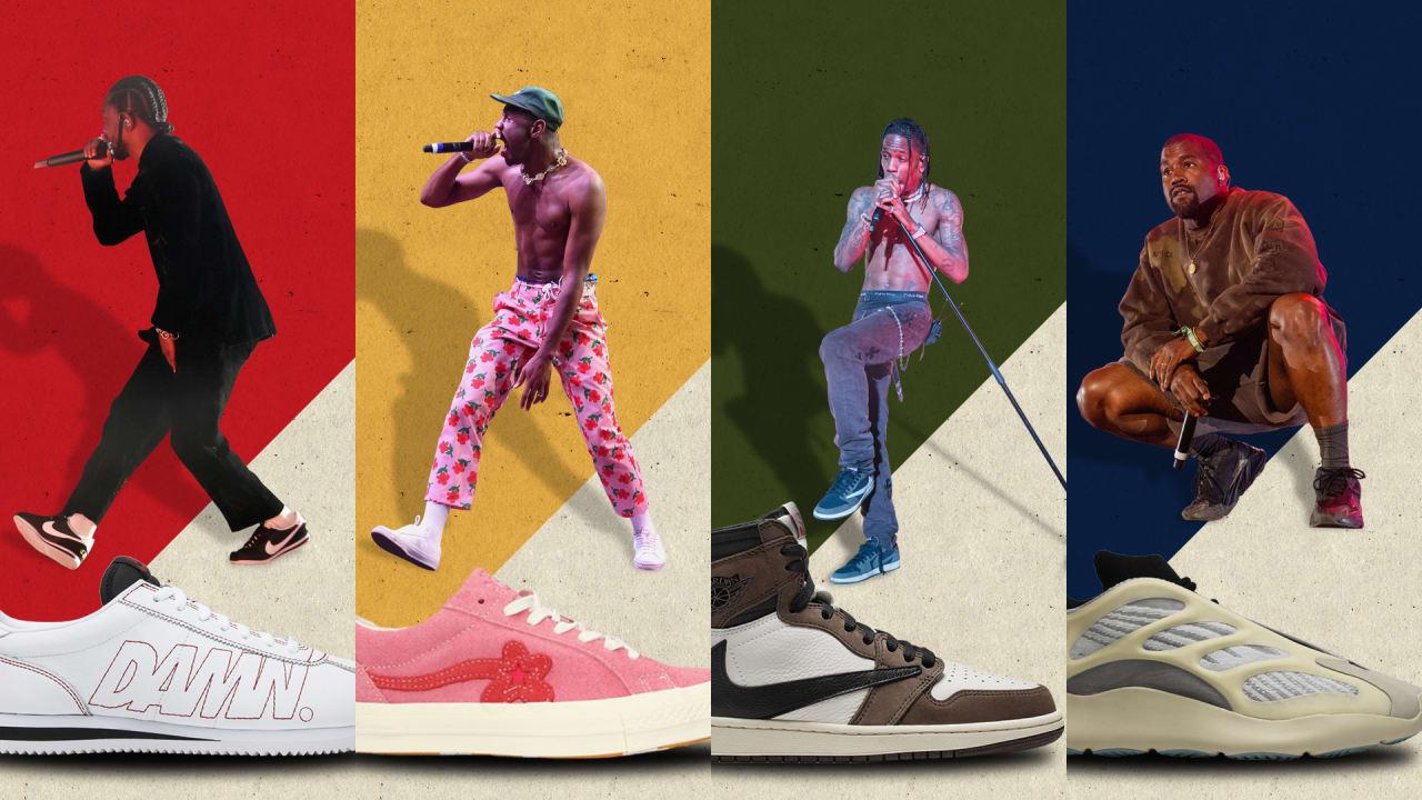Rapper Sneaker Collaborations