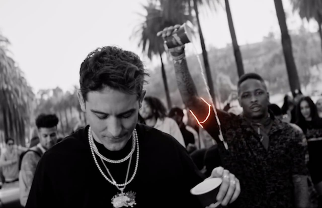 G-Eazy and Blueface Link With YG and ALLBLACK for