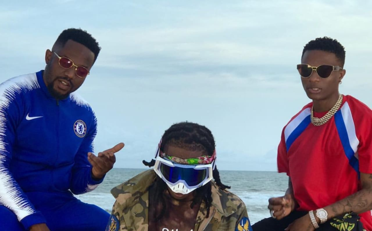 Premiere: Afrobeats Stars R2Bees Link Up With Lagos Legend Wizkid For