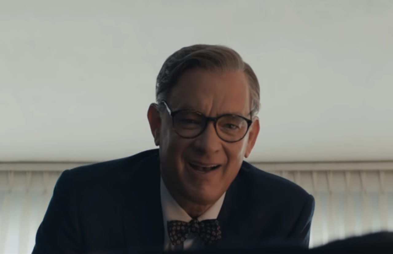 Here's Tom Hanks as Mr  Rogers in the First 'A Beautiful Day in the  Neighborhood' Trailer
