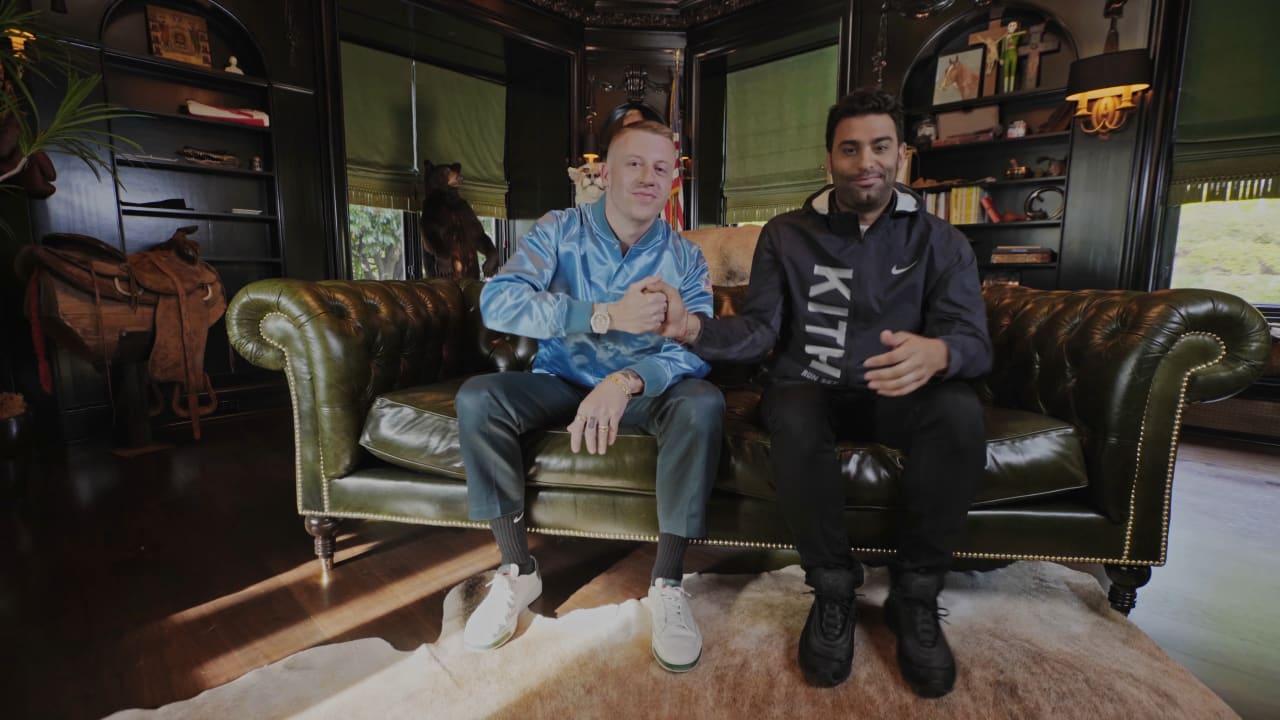 promo code ab651 46d86 Macklemore Shows off His Closet and Reveals His Rare, Never-Released Jordans