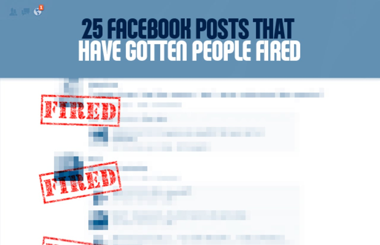 25 Facebook Posts That Have Gotten People Fired | Complex