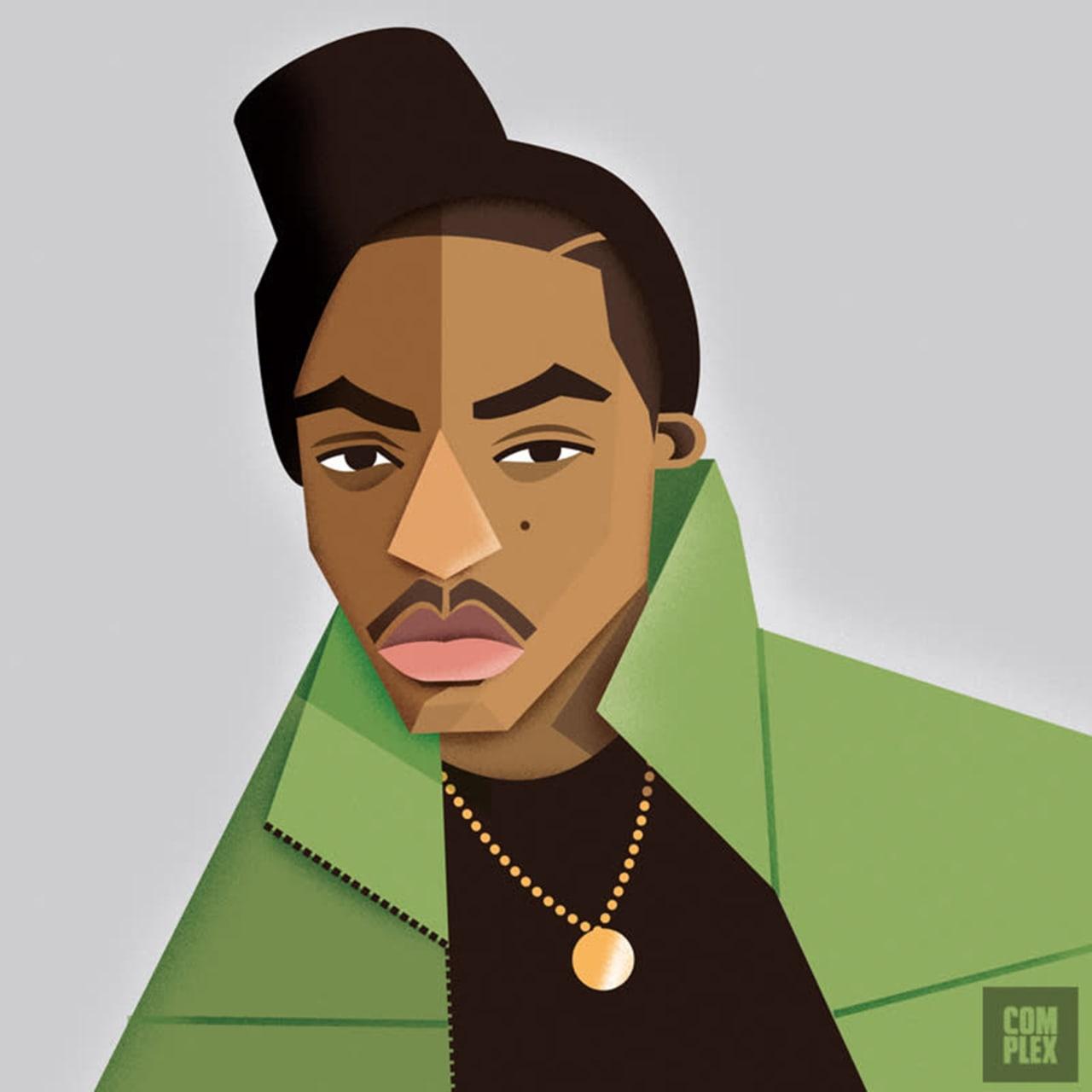Kilsd Boys /& Girls Junior Classic Kendrick Lamar Cartoon Long Sleeve T-Shirt Black