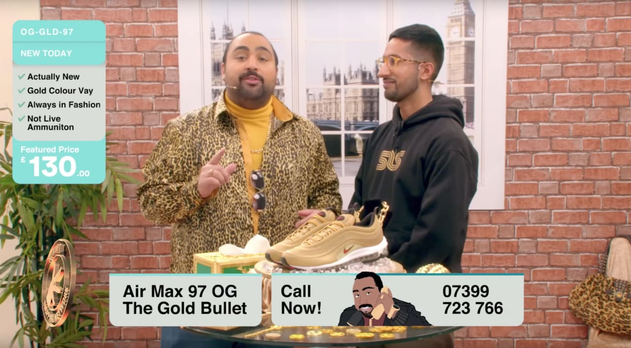 Gold Rush: Chabuddy G And Kurupt FM Present The Nike Air Max 97 Gold