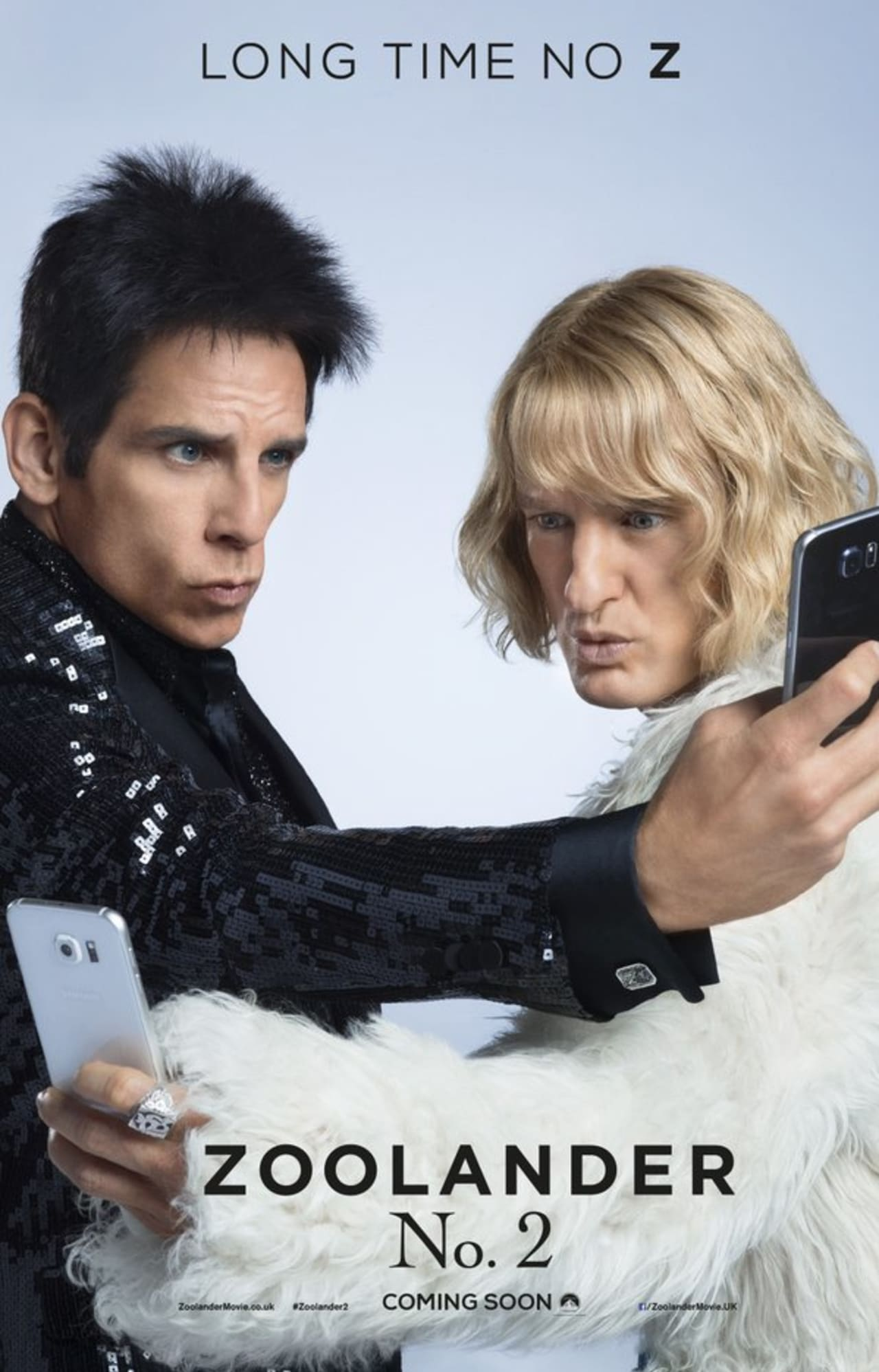 Ben Stiller And Owen Wilson Give Their Best Blue Steel For The Zoolander 2 Poster Complex