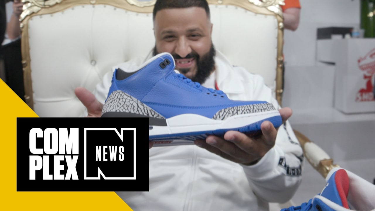 online store 06d2e 5f324 DJ Khaled Shows Off His Exclusive