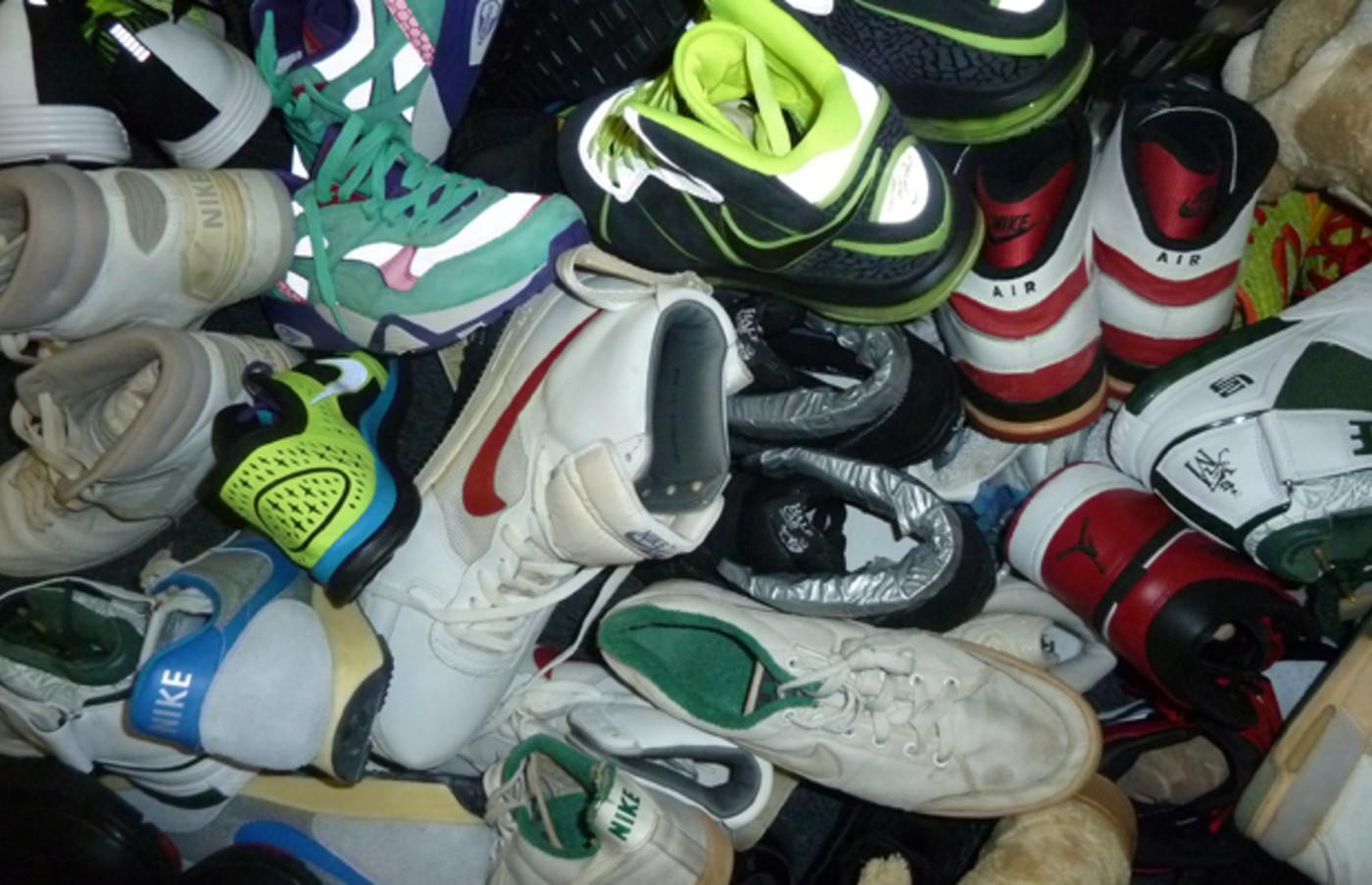Adaptación vacío embrague  The 25 Coolest Sneakers in Russ Bengtson's Office | Complex