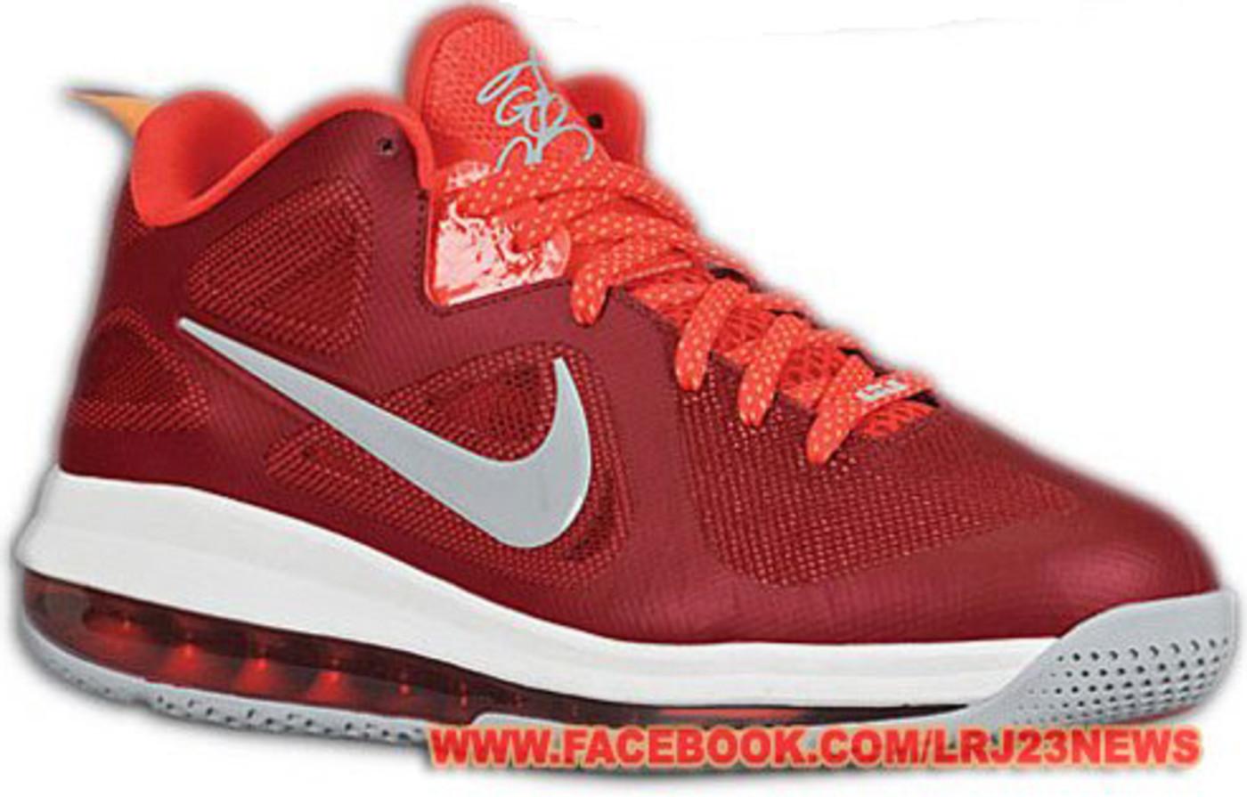 Nike red lebron 9