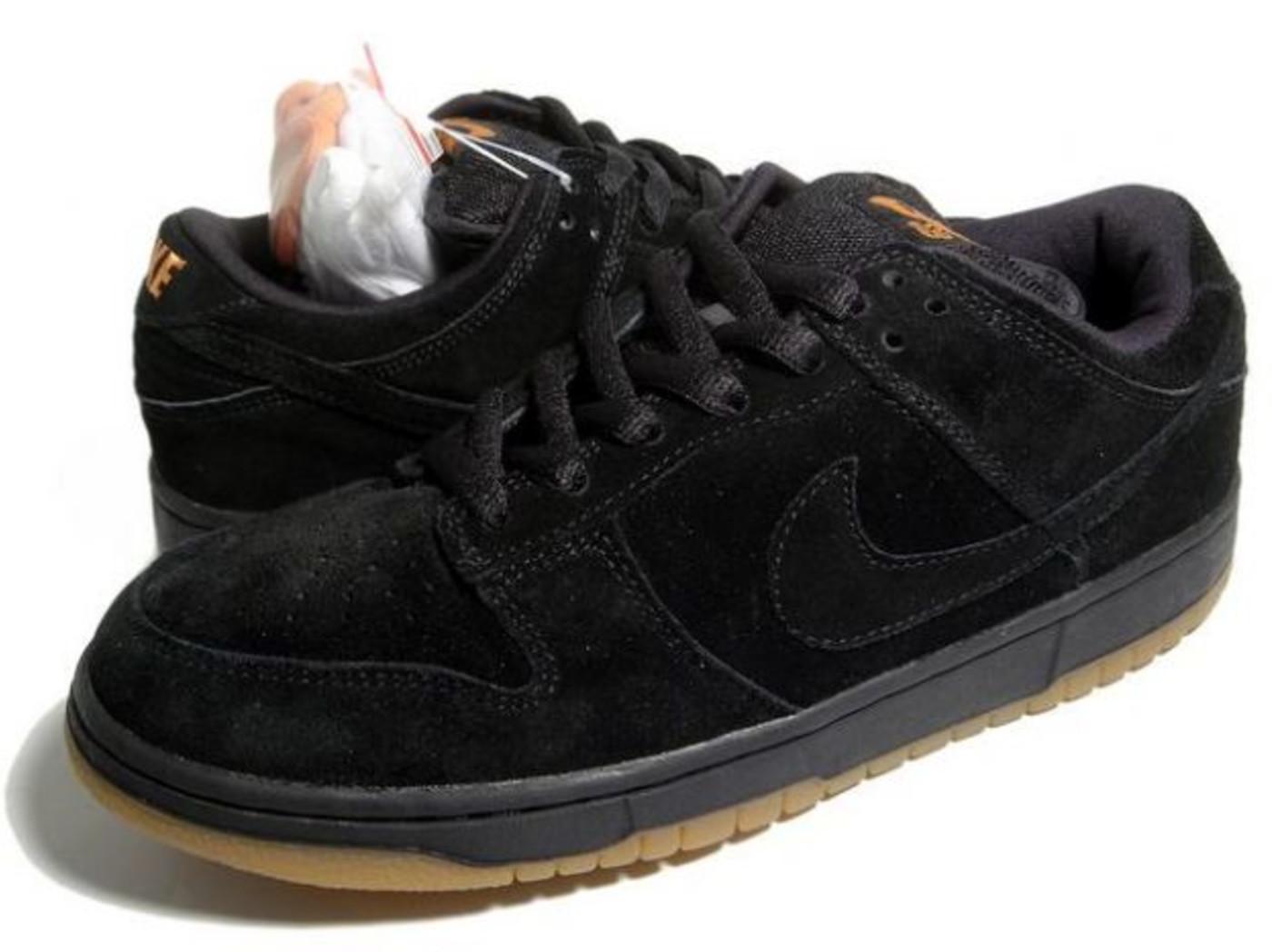 all black nike sb shoes