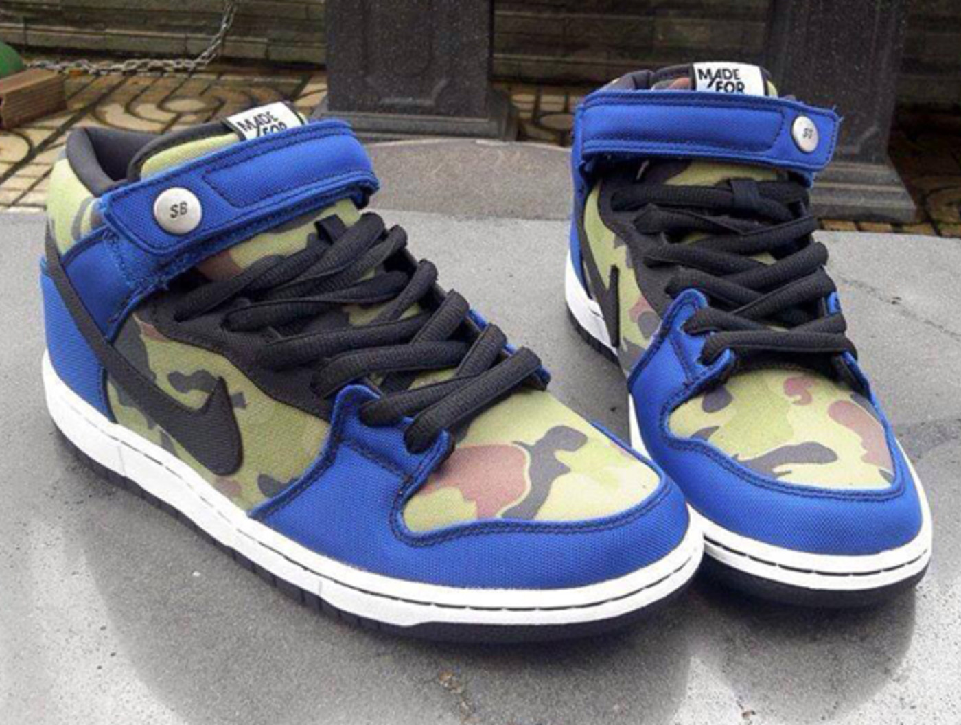 Made for Skate x Nike SB Dunk Mid   Complex