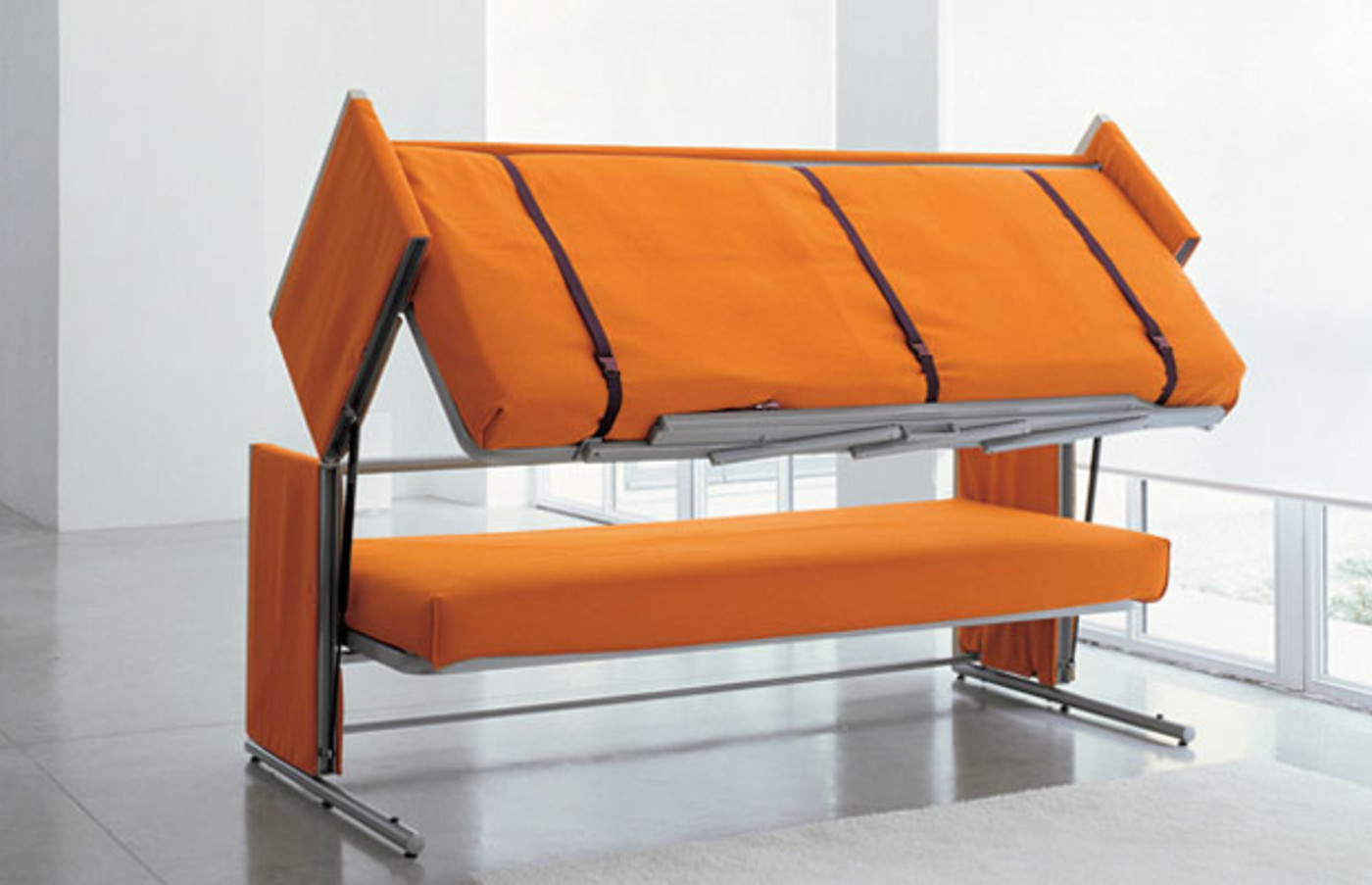 This Sofa Turns Into A Bunk Bed Complex