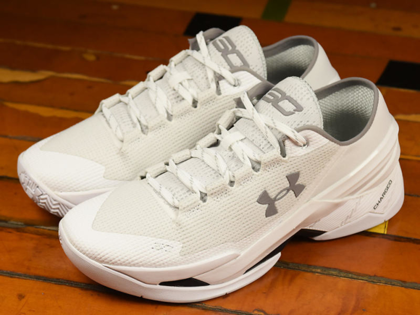 Steph Curry's White Sneakers