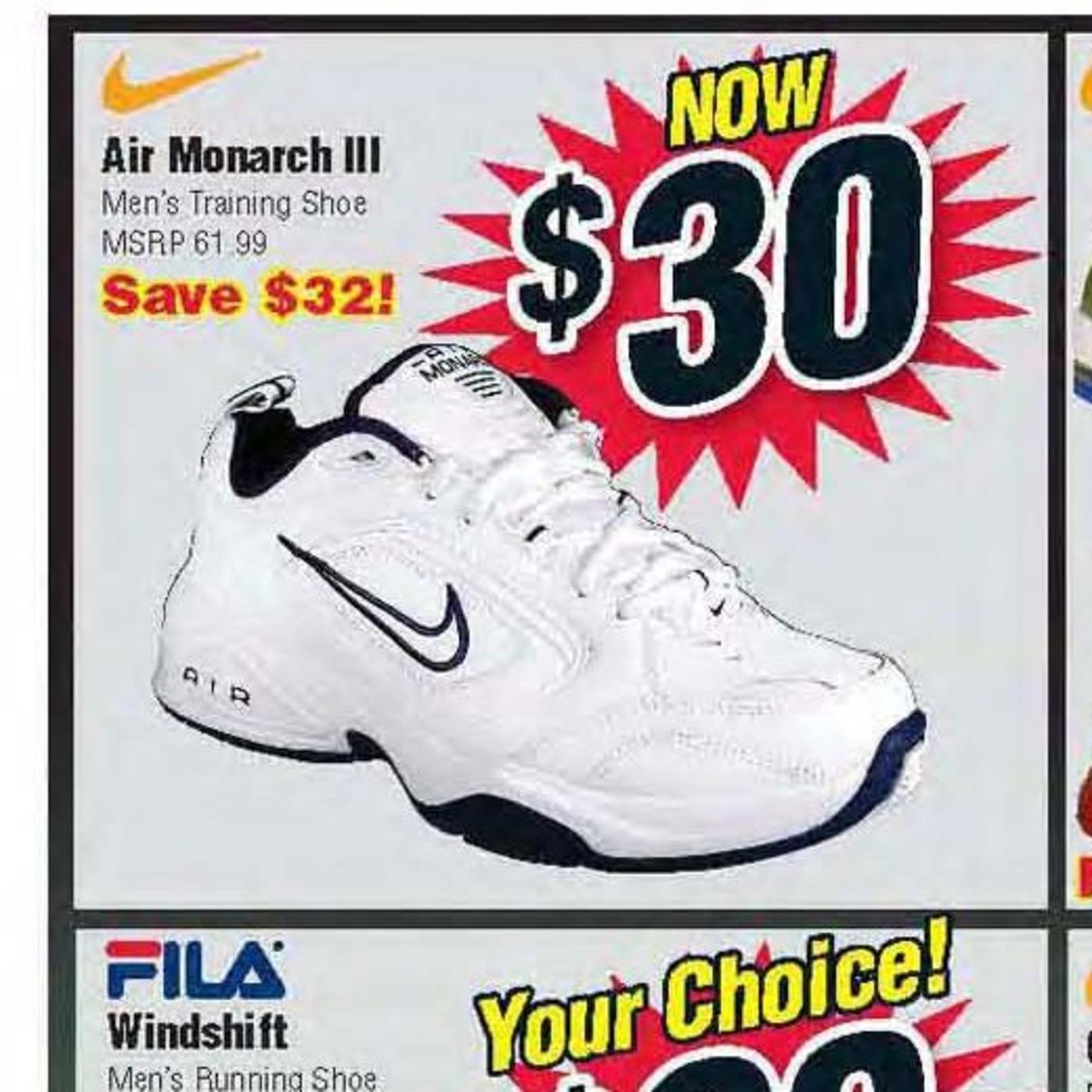 Own Nike Air Monarchs