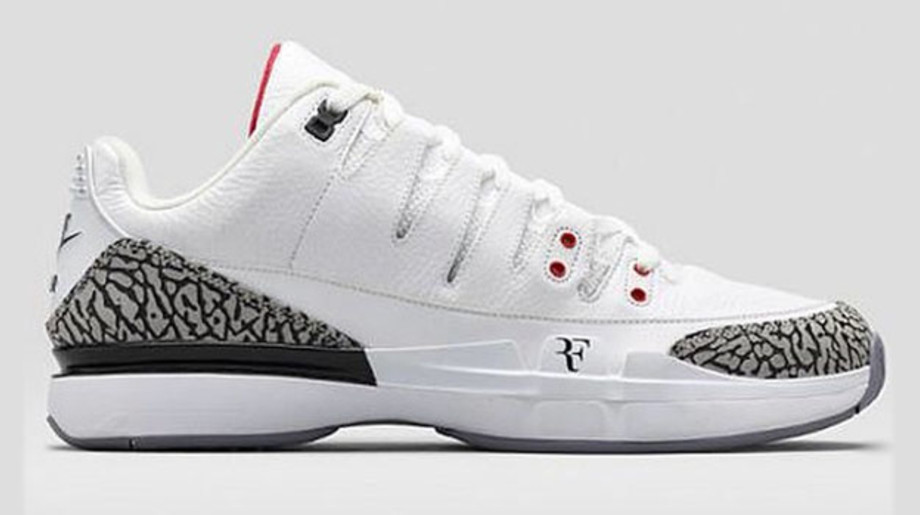 Penélope solicitud cuello  Roger Federer Will Hit the US Open Court in These Air Jordan 3 x ...