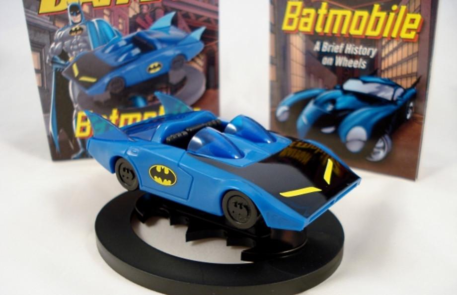 BATMAN $ Returns Batmobile set Choro Q Mini Car Toy Japan Boss LE Promo DC COMIC