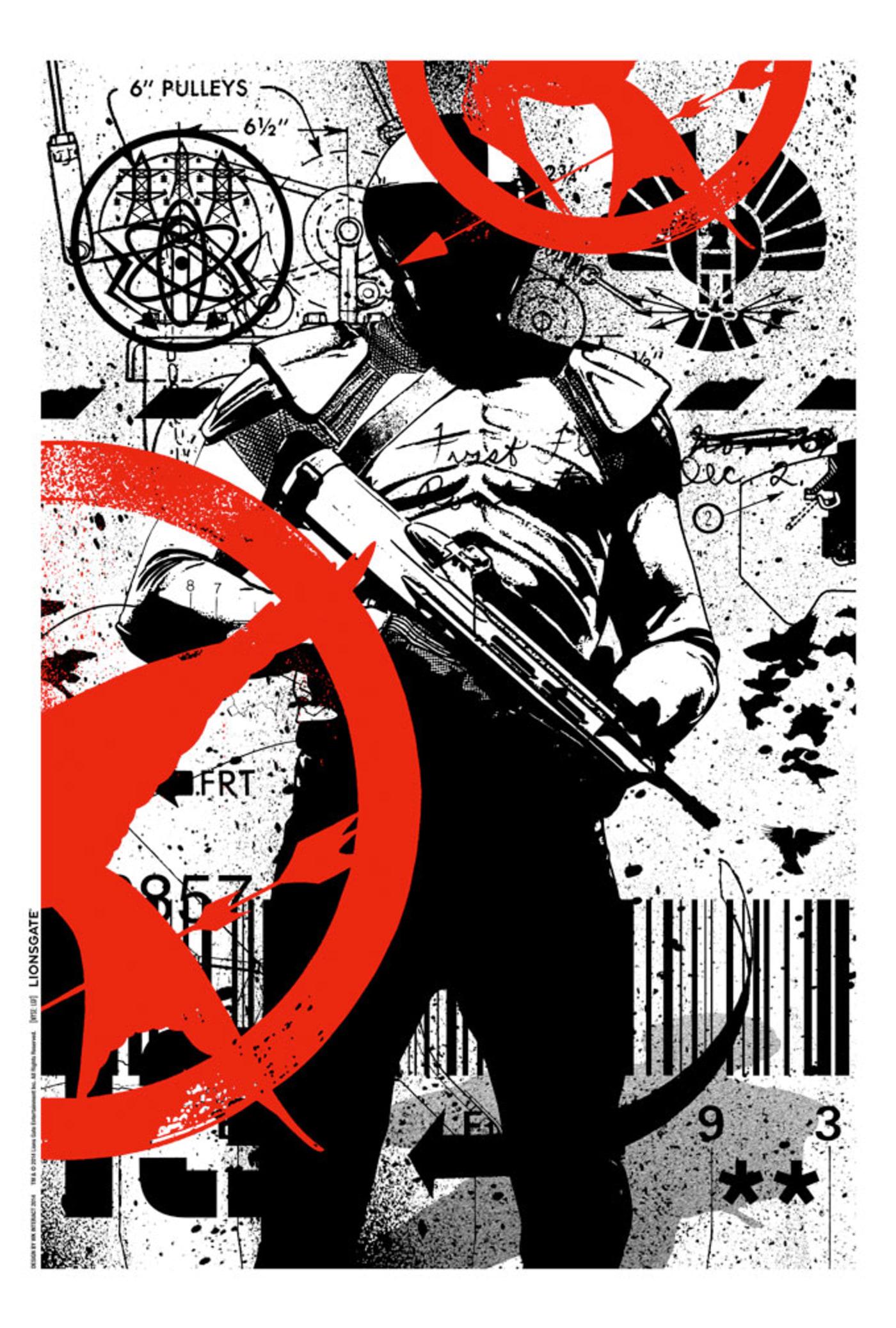 Hunger Games Mockingjay Part 1 Poster