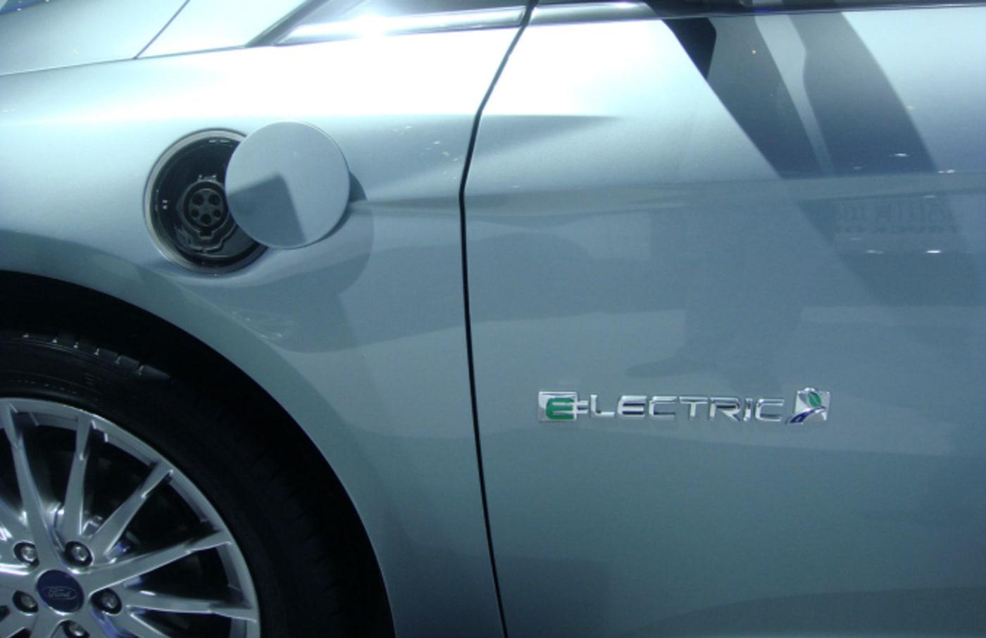 Ford Electric Car Close Up via Mario Roberto Duran Ortiz