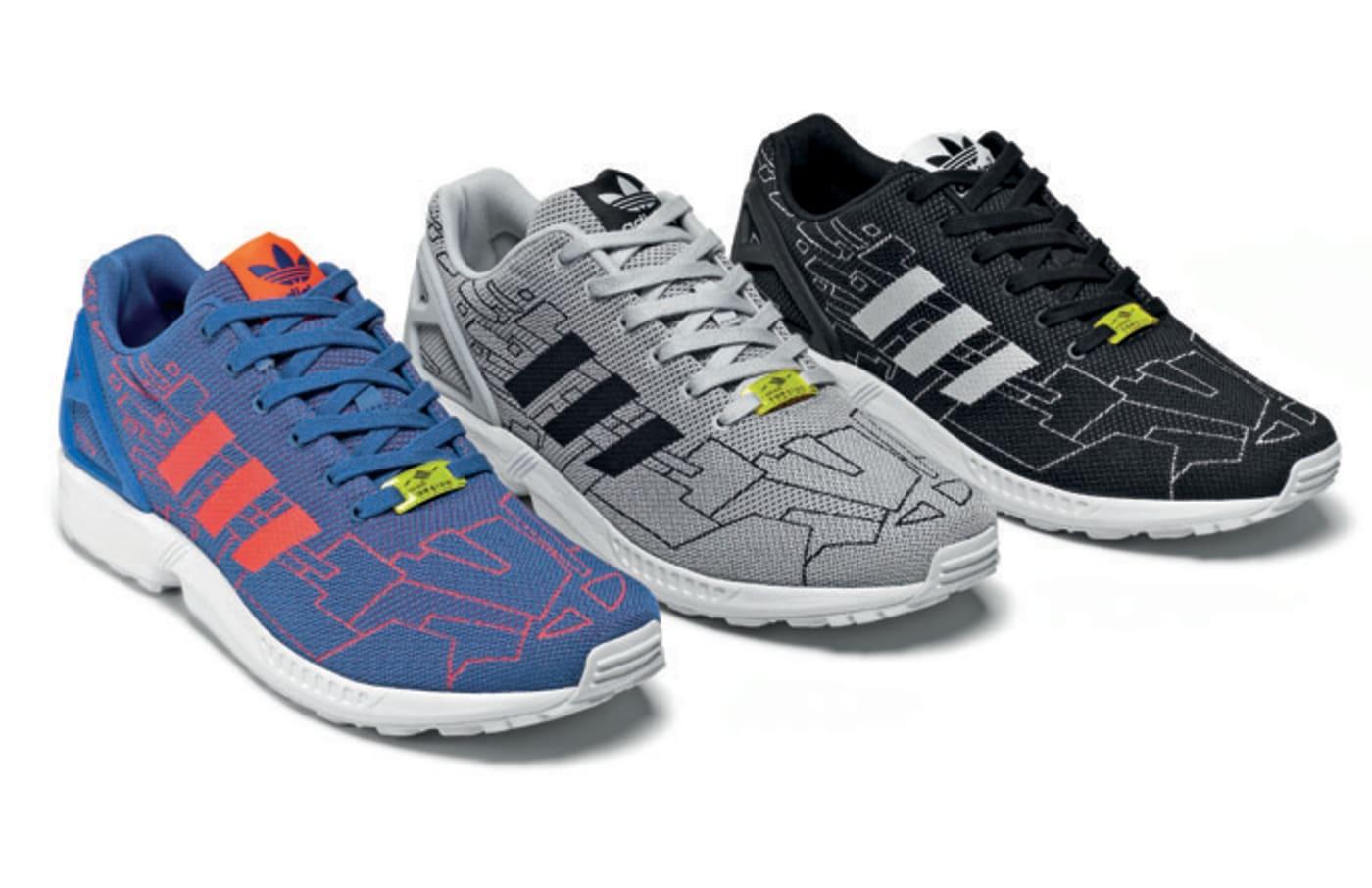 "adidas Originals ZX Flux Weave ""Pattern"" pack release details"