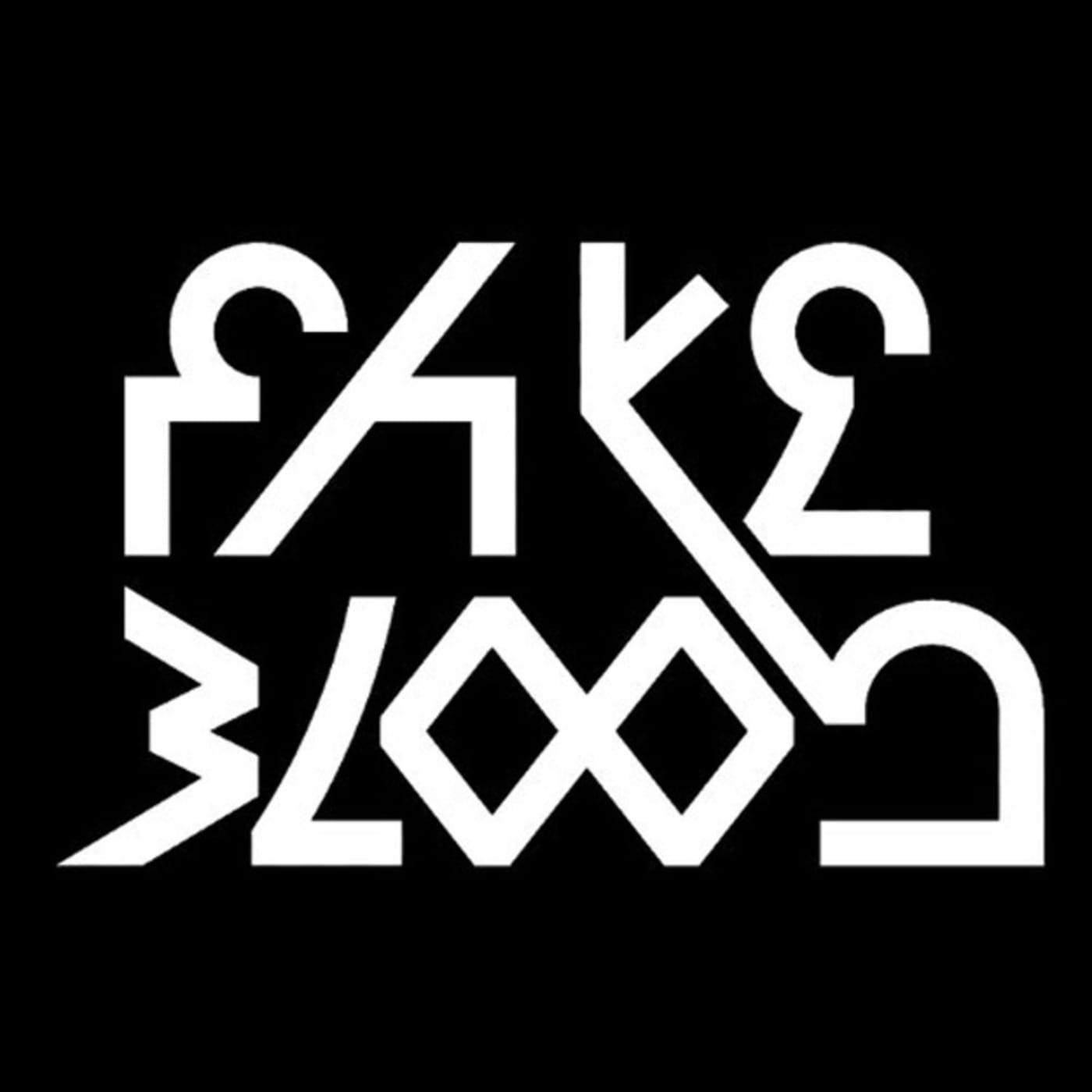 fake blood logo