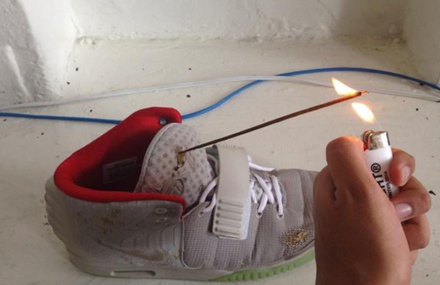 Air Yeezy II Incense Holder