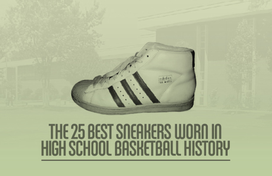 The 25 Best Sneakers Worn in High School Basketball History