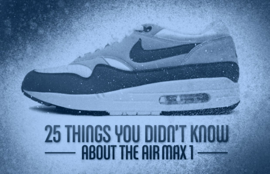 25 Things You Didn't Know About the Air Max 1 | Complex