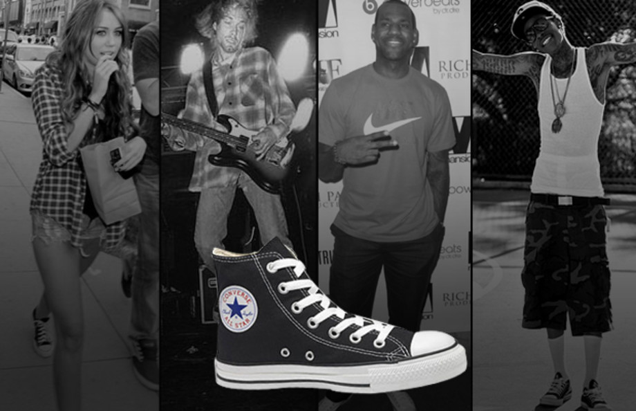 A History of Celebrities Wearing the Converse Chuck Taylor