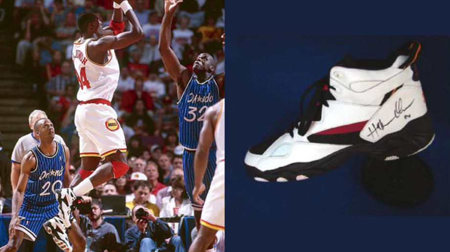 Today in Performance Sneaker History: Hakeem Olajuwon Leads