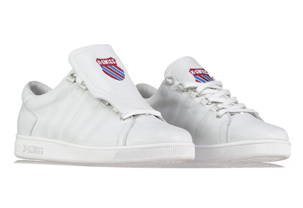 The K-Swiss Tongue Twister Sneakers Are