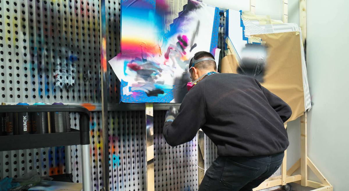 Avant Arte reunites with artist Felipe Pantone for a new collaboration launching at ComplexCon!!